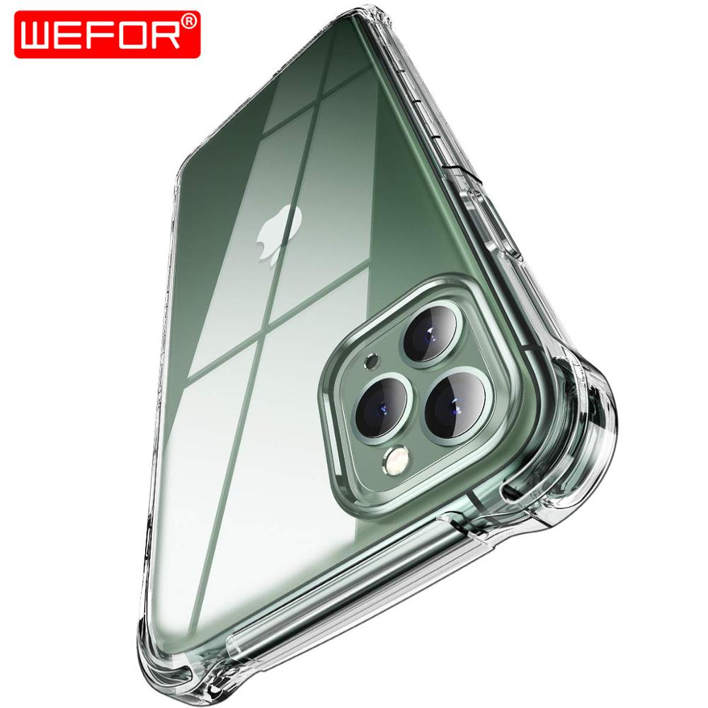 for iPhone XR XS 11 Pro Xs Max 6 6s 7 8 Plus Case,Silicone Shockproof Transparent Protective for Apple iPhone 5 5S SE 11 Case