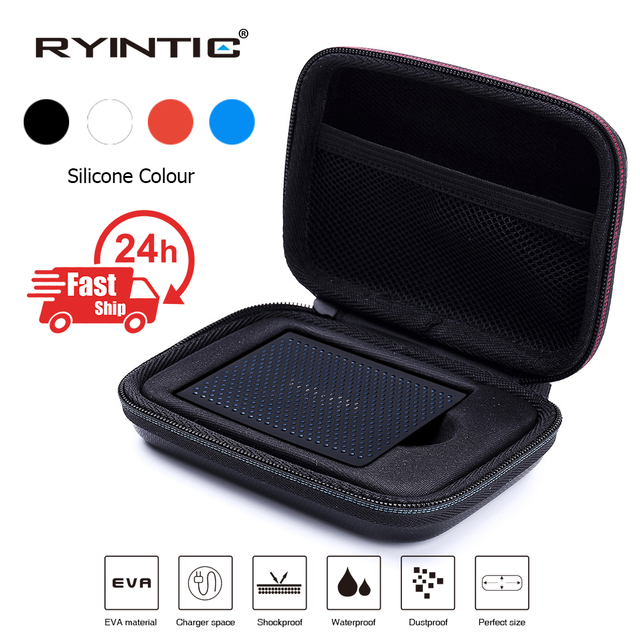 Portable Shockproof Carry Case Bag Silicone for Samsung T5 / T3 / T1 Portable SSD 250GB 500GB 1TB 2TB USB 3.1 Type C Hard Drive