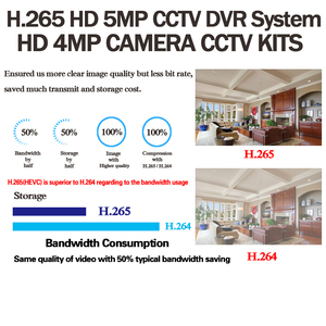 Image 2 - 4mp hd cctv 시스템 8ch ahd dvr 키트 8 pcs 4.0mp 2560*1440 6 * 어레이 led 보안 카메라 야외 감시 키트 쉬운 원격보기