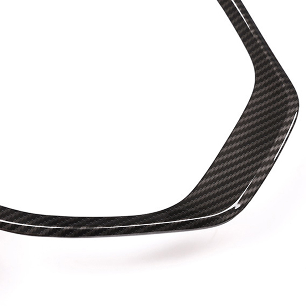 Parts For BMW 3 4 Series F30 F31 F32 ABS Cover Carbon Fiber Car Interior Sticker Replacement