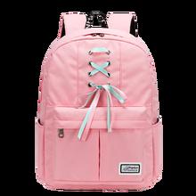 Fashion Womens Backpack Sweet Canvas School Bag Young Girls Travel Daypack Rucksack Large Capacity Laptop Mochila