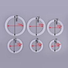 2 unids/lote anillo de sellado de silicona arandela de lavadora Flexible anillo piezas de cocina o cafetería fabricantes Accesorios