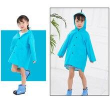 Waterproof Raincoat Jacket Hooded Dinosaurs Girls Breathable Outdoor Boys Cartoon Unisex