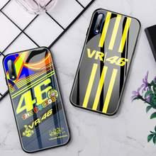 Funda de teléfono de carreras Doctor motocicleta Rossi, cristal para Huawei P30 Lite 20 Por P9 10 Honor 8X9 10 NOVA 5