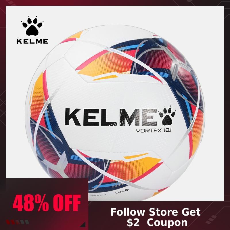 KELME Soccer Ball Football  Ball PU Training Balls Outdoor Indoor Football Official Size 4 Match 9886120