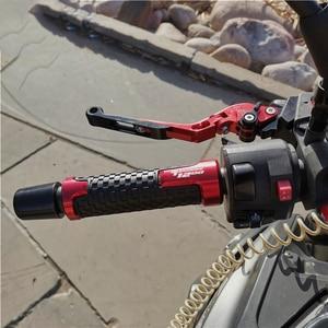 Image 2 - Motorcycle Handle grips handlebar grip & Extendable Brake Clutch Levers For Yamaha tenere1200 Tenere 1200 XT1200Z