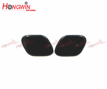 HW 98681-2W000 (LH)& 98682-2W000 (RH) Front bumper headlight cover Headlight cleaning Cap For Hyundai Santa fe DM 2013-2015 image