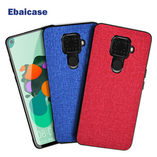 For Huawei Mate 30 Lite Case Cloth Shockproof Cover for P30 P20 Pro 10 20 P Smart 2019