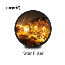 כוכב קו 37 46 52MM 55MM 58MM 67 77 88 MM מצלמה עדשת מסנן עבור canon eos sony ניקון d3300 400d 18 135 d5100 תמונה צילום