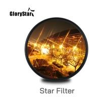 Estrela Linha 37 46 52MM 55MM 58MM 67 77 88 MILÍMETROS Lente Da Câmera Filtro Para canon eos sony nikon d3300 400d 18 135 d5100 foto fotografia