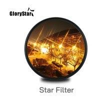 Star Line – filtre d'objectif d'appareil photo, pour canon eos sony nikon d3300 400d 18-135 d5100, 37 46 52MM 55MM 58MM 67 77 88 MM
