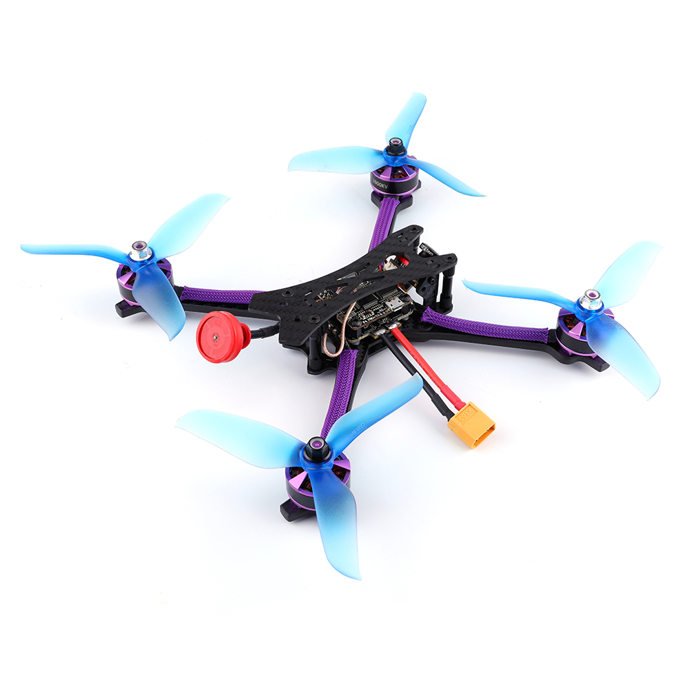 FPV course RC Drone Kit 215mm bricolage Version FPV course RC Drone F4 OSD 30A BLHeli_S 40CH 600mW VTX 700TVL Cam