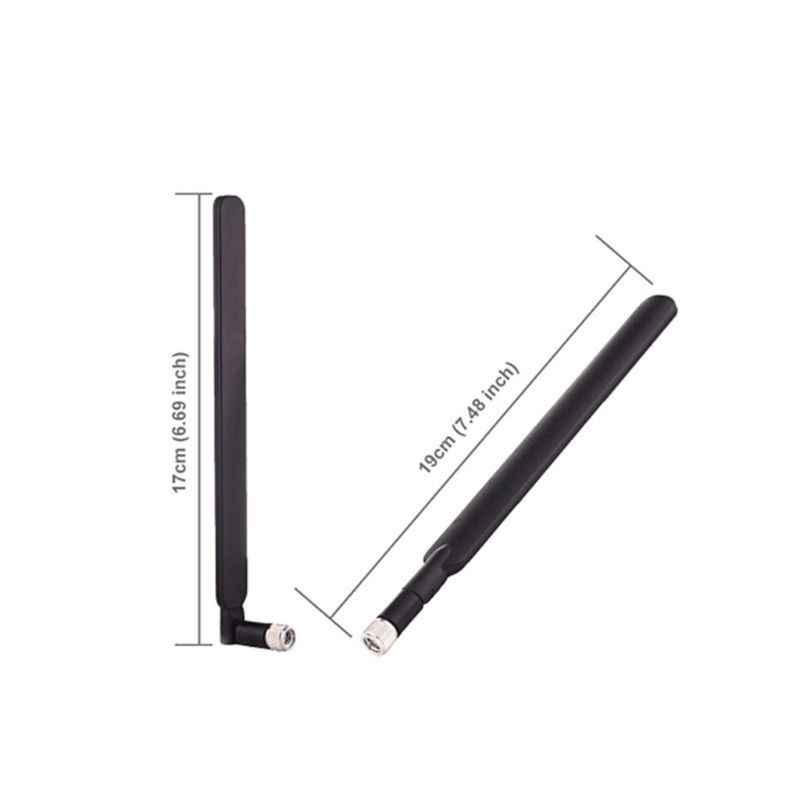 2 adet 5dBi WiFi anten SMA erkek için 4G LTE yönlendirici anten B315 B310 B593 B525