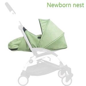 Image 1 - Wózek dziecięcy gniazdo urodzenia noworodek dla Babyzen yoyo + Yoya Babytime wózki koszyk akcesoria do wózka dziecinnego śpiwór zimowy