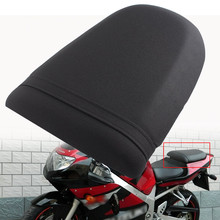 цена на Moto Rear Pillion Passenger Cowl Seat Pad For SUZUKI GSX R600/750 2001-2003 GSX R1000 2000-2001 K1 Leather Seat Cover Cowl Pad
