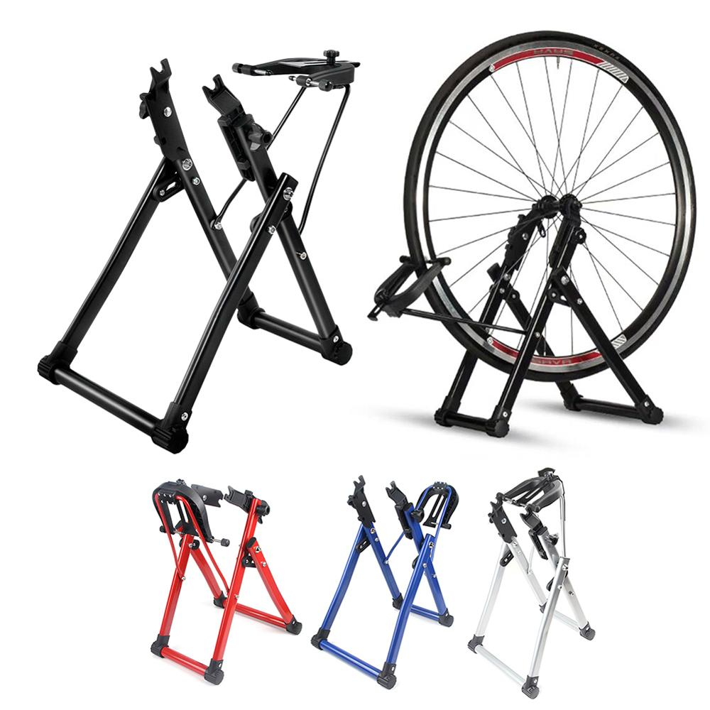 Bicycle Wheel Truing Stand Home Mechanic Truing Stand Maintenance Home Truing Stand Holder Support Bike Repair Tool