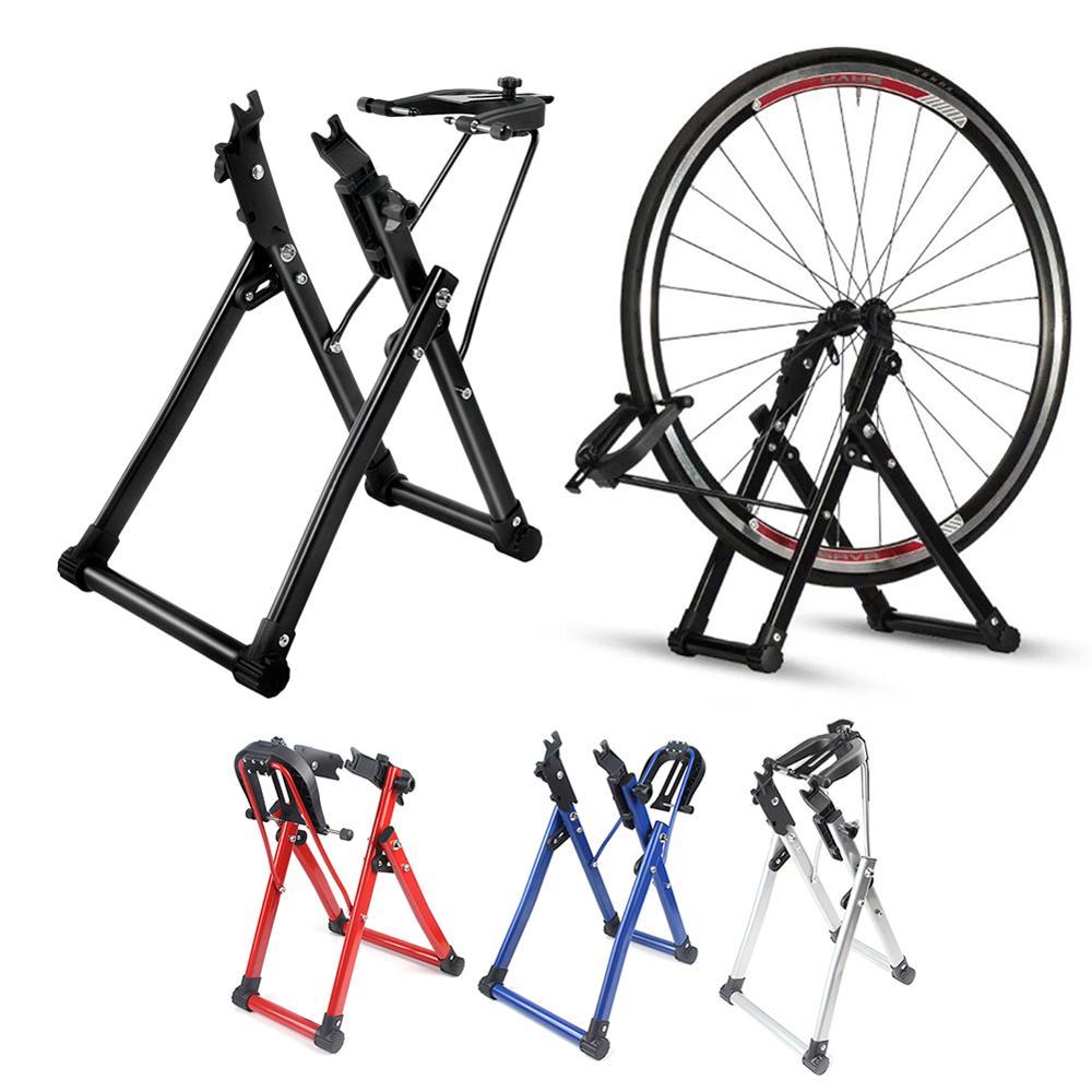 Bicycle Wheel Truing Stand Home Mechanic Truing Stand Maintenance Home Truing Stand Holder Support Bike Repair Tool