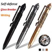 New Arrival Pocket Aviation Aluminum Anti-skid Military Self Defense Tactical Pen Outdoor Sports defensa personal Survival Tools
