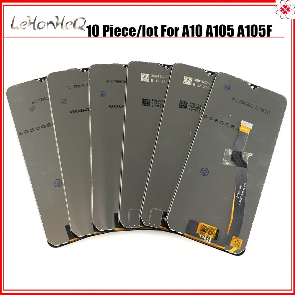 10 PCS 10 Lot Display Für Samsung Galaxy A10 A105 A105/DS A105F LCD Display Touchscreen Digitizer Montage für Samsung A10 LCD