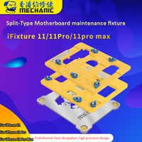 メカニック分割型マザーボードメンテナンス治具ホルダー iphone 11/11 プロ/11 プロ最大基板メインボードクランプ修理ツール