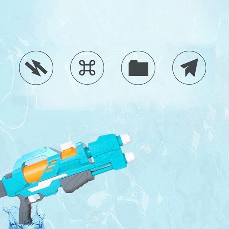 cheapest 2pcs Shark Crocodile Shape Summer Water Squirt Toys Sprayer Blaster Outdoor Game