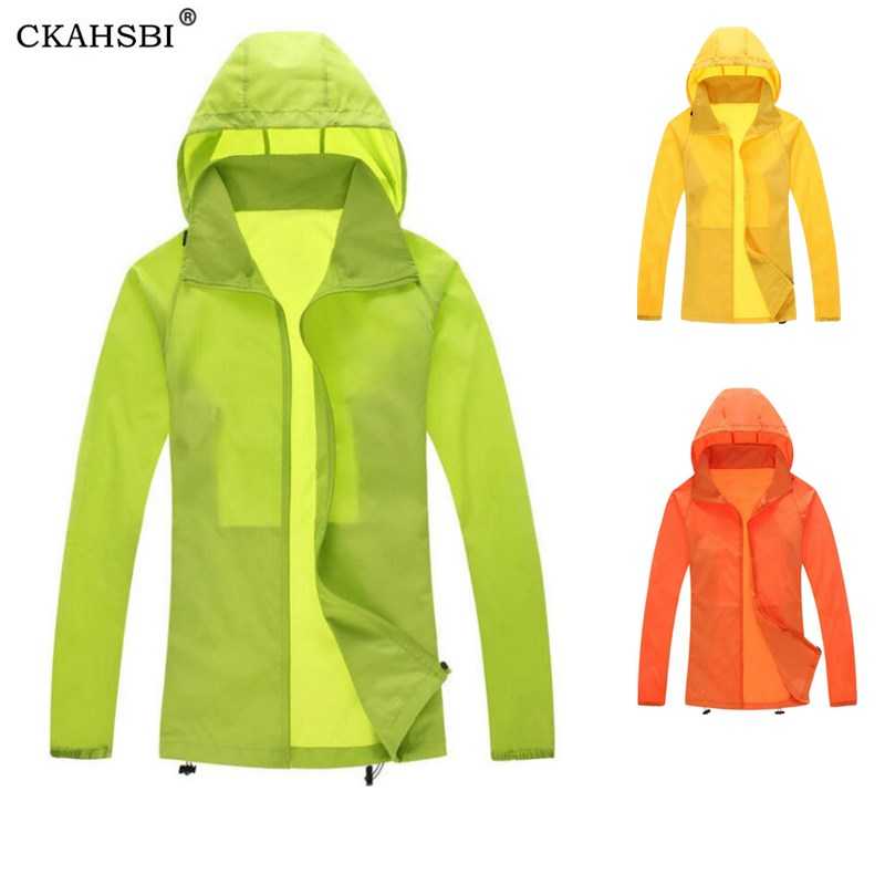 CKAHSBI Men New Waterproof Windproof Breathable Unisex Cycling Coat Windcoat Jersey MTB Bicycle/Bike Skin Jacket Wind Raincoat