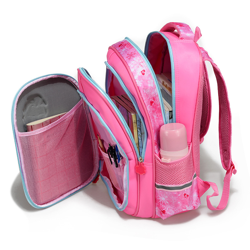2019 Suitable For Grades 1-6 Princess Printing School Bags For Girls Children Orthopedics School Backpack Mochila Infantil