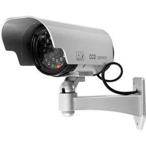 Dioda LED zasilana energią słoneczną kamera telewizji przemysłowej fałszywa kamera ochrony na zewnątrz manekina nadzoru
