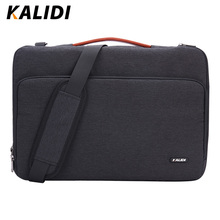 KALIDI сумка для ноутбука 11, 12, 13,3, 15,6, 17 дюймов, водонепроницаемая сумка для ноутбука Macbook Air Pro 11, 13, 15, сумка для компьютера для женщин и мужчин
