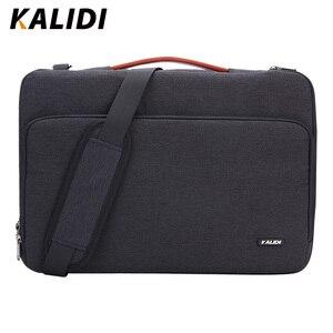 KALIDI Laptop Bag Sleeve 11 12 13.3 15.6 17 Inch Waterproof Notebook Bag For Macbook Air Pro 11 13 15 Computer Bag For Women Men(China)