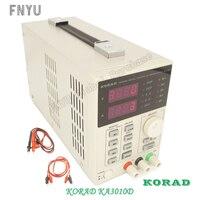 Korad ka3010d precisão variável ajustável 30 v  10a 0.01 v 0.001a dc fonte de alimentação linear digital classe de laboratório regulada