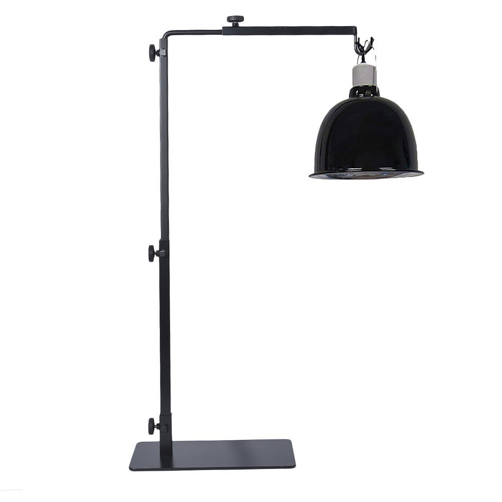 REPTI ZOO Reptile Lamp Stand Lamp Hanger Holder Adjustable Metal Lamp Support