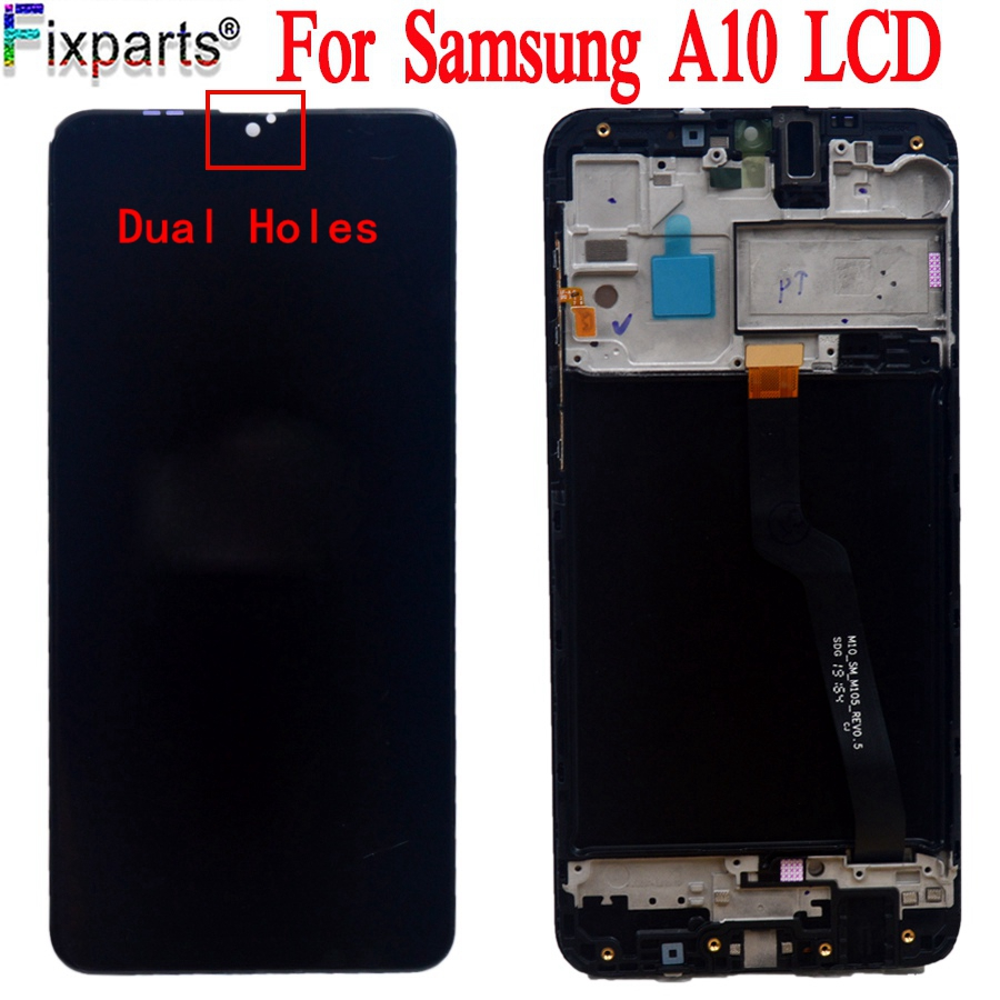 New 6.22'' LCD For SAMSUNG Galaxy A10 2019 Display Touch Screen Digitizer Assembly SM-A105 A105F A105G LCD For SAMSUNG A10 image
