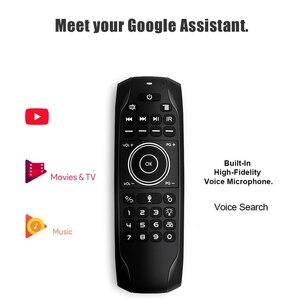 G7V Pro английская русская клавиатура гиродатчик 2,4G Беспроводная воздушная мышь голосовой пульт с микрофоном G7 V Pro для H96 MAX Android TV BOX
