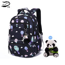 FengDong school bags for girls waterproof kawaii school backpack kids cute backpack schoolbag girl gift backpacks for children(China)