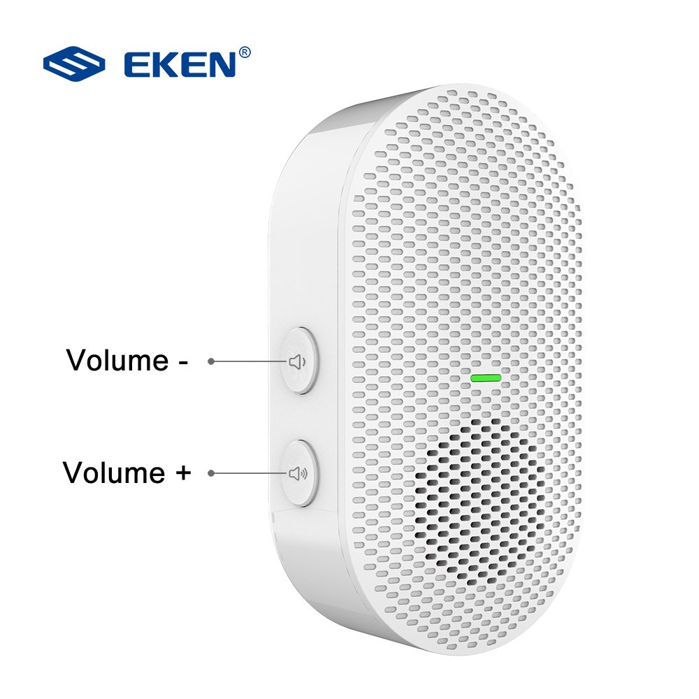 £Closeout DealsEKEN Wifi Doorbell Camera Chimes Ding Dong Home Wireless for V7 V6 V5 Low-Power-Consumption├