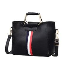 THREEPEAS PU Leather Fashion Female Women Composite Bag Two piece Handbags Messenger Bag