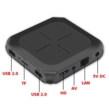 TVPAO Android Latest 9.0 OS Amlogic S905W T96D Kill Time KodiMedia Player Full Operation OTT Smart Box