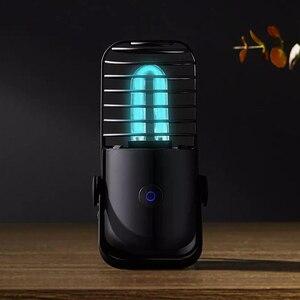 Image 4 - Youpin Xiaoda עיקור שולחן מנורת UV אוזון כפול 99.9% שיעור עיקור אולטרה סגול ריי להרוג חיידקים