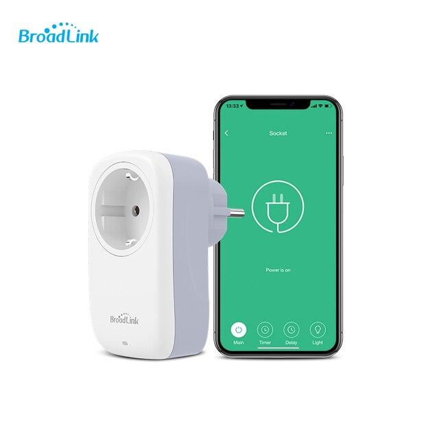 Broadlink SP3/SP4L UE Wifi Presa Spina Presa di Smart Controlli A Distanza Senza Fili Per Smart Phone Smart home