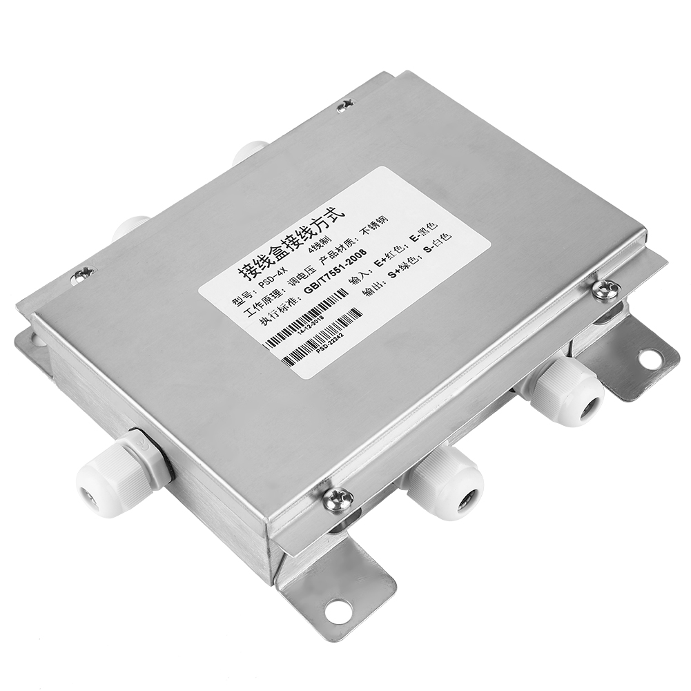 High Quality 1Pcs Stainless Steel Junction Box Weighing Sensor 4 Wire Analog Digital Junction Box Four-Wire Junction Box фото