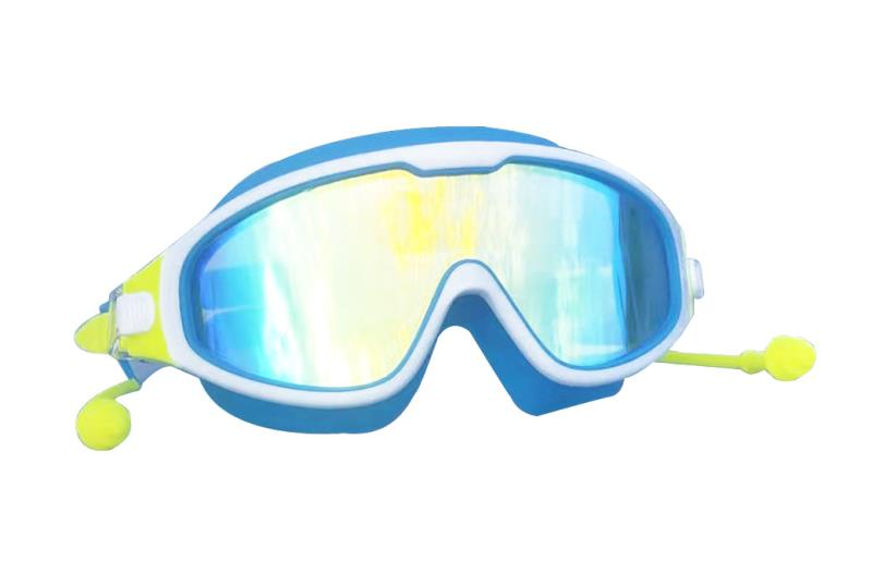 Fashion Professional Child Swimming Goggles Anti-fog UV Kids Sports Eyewear Swimming Glasses With Earplug For Children