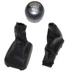 Chrome carro shift gear knob boot capa travão de mão boot gaiter para vauxhall opel astra f 1991 1992 1993 1994 1995 1996 1997 1998