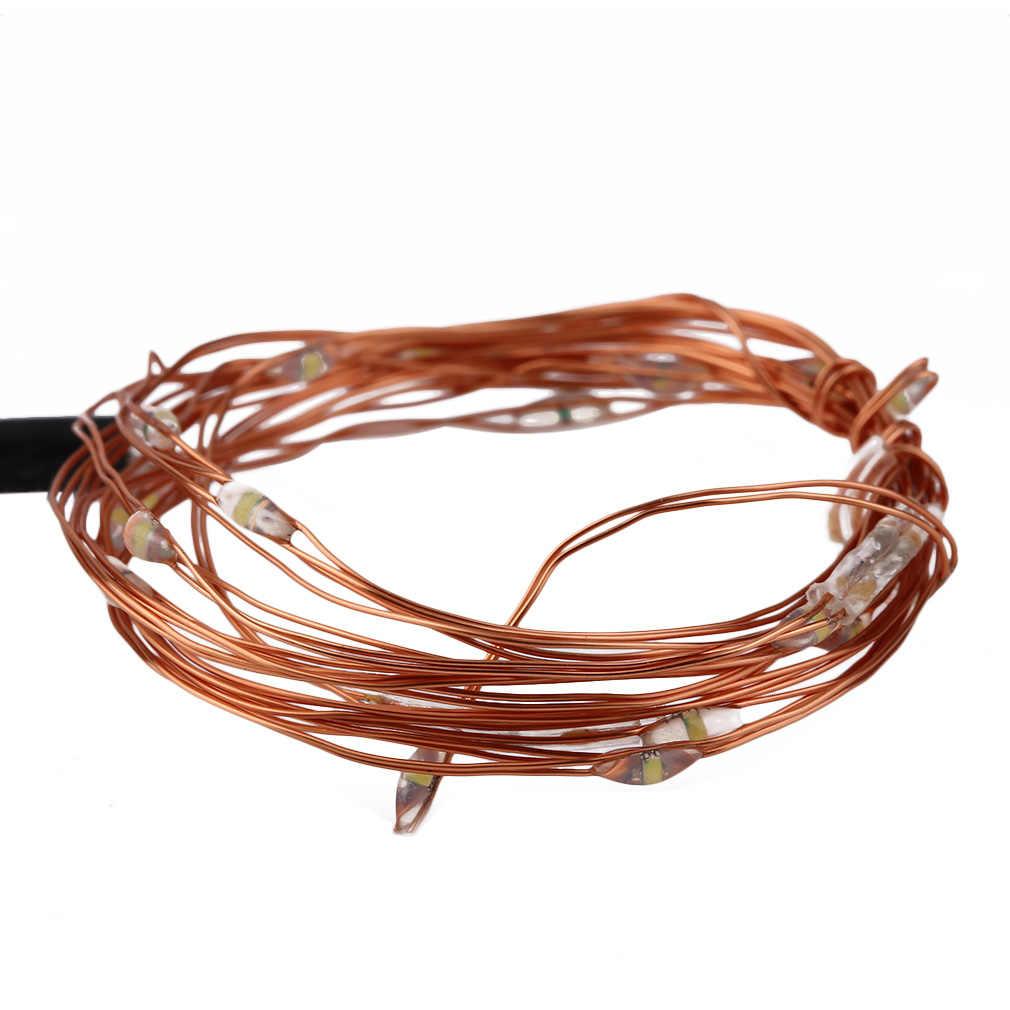 Icoco 2 M/5 M/10 M Đèn LED Chống Nước IP66 Nguồn USB DC5V Dây Đồng Cổ Dây Đèn đèn Cho Tiệc Cưới Lễ Hội Trang Trí