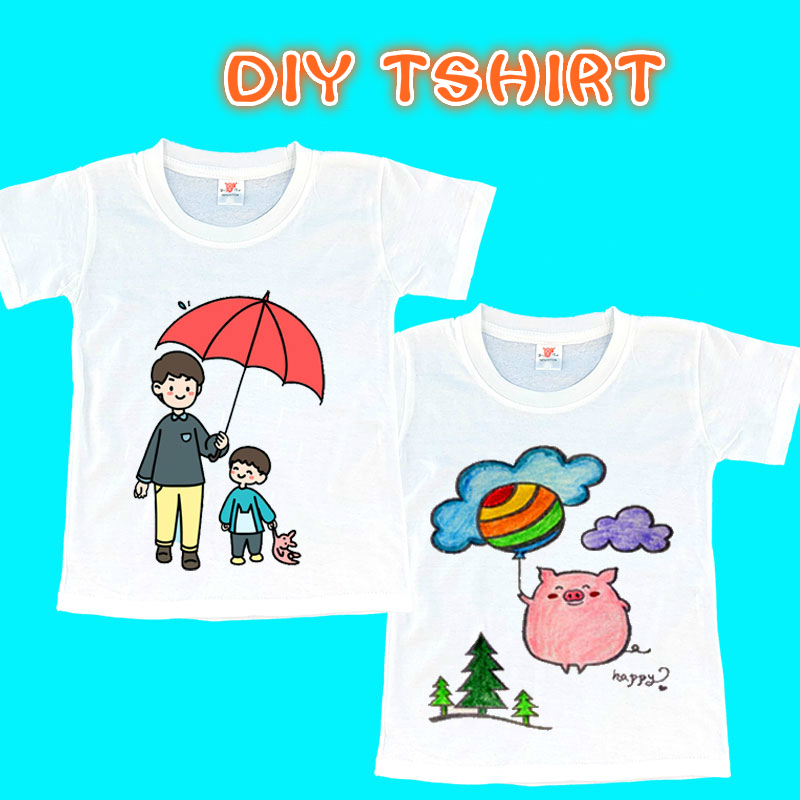 Educational Toys For Children DIY Drawing T Shirts Coloriage Enfant Kindergarten Colorful Graffiti Spirograph T Shirts For Gift
