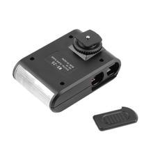 Universal Digital Slave Flash Light Auto Single Contact Standard For Hotshoe/Canon/Nikon DSLR Camera цена и фото