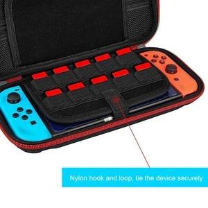 Image 5 - Bevigac נסיעות נשיאת מגן מקרה אחסון פאוץ תיק תיבת עם 20 משחק כרטיס חריץ עבור Nintendo Nitendo Nintend מתג קונסולה