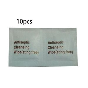 Image 1 - 10Pcs Disposable First Aid Antiseptic Wipes Benzalkonium Chloride Cleansing Towelettes Antibacterial Sanitizer Individually Pack