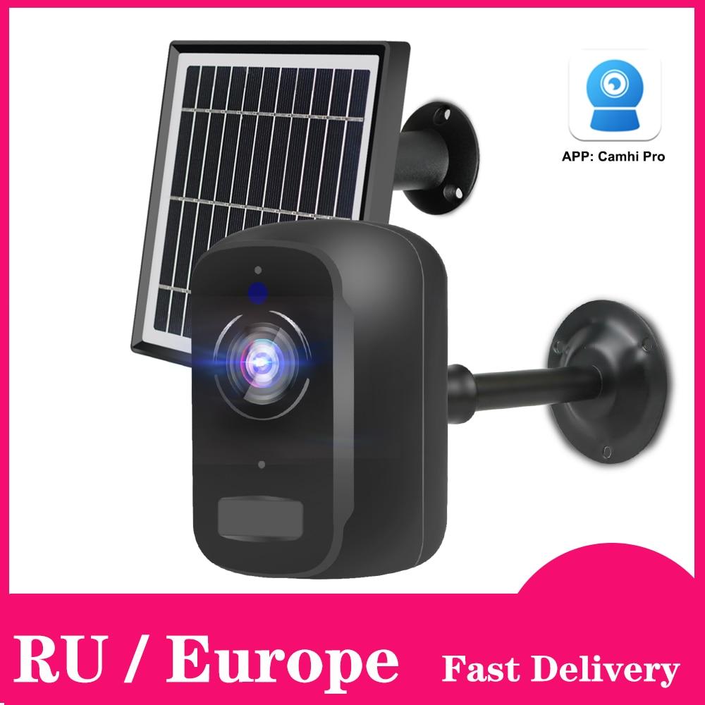 Ip-камера для наружного использования 1080P HD Беспроводная Wi-Fi камера с аккумулятором и питанием от аккумулятора Домашняя безопасность ip-камер...