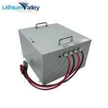 Высококачественная литий ионная батарея глубокого цикла 48 в